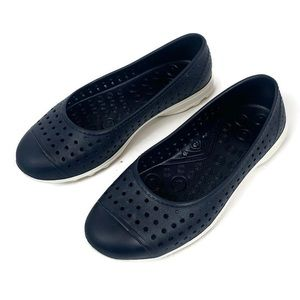 Skechers H2Go Navy Blue Slip On Rubber Water Shoes